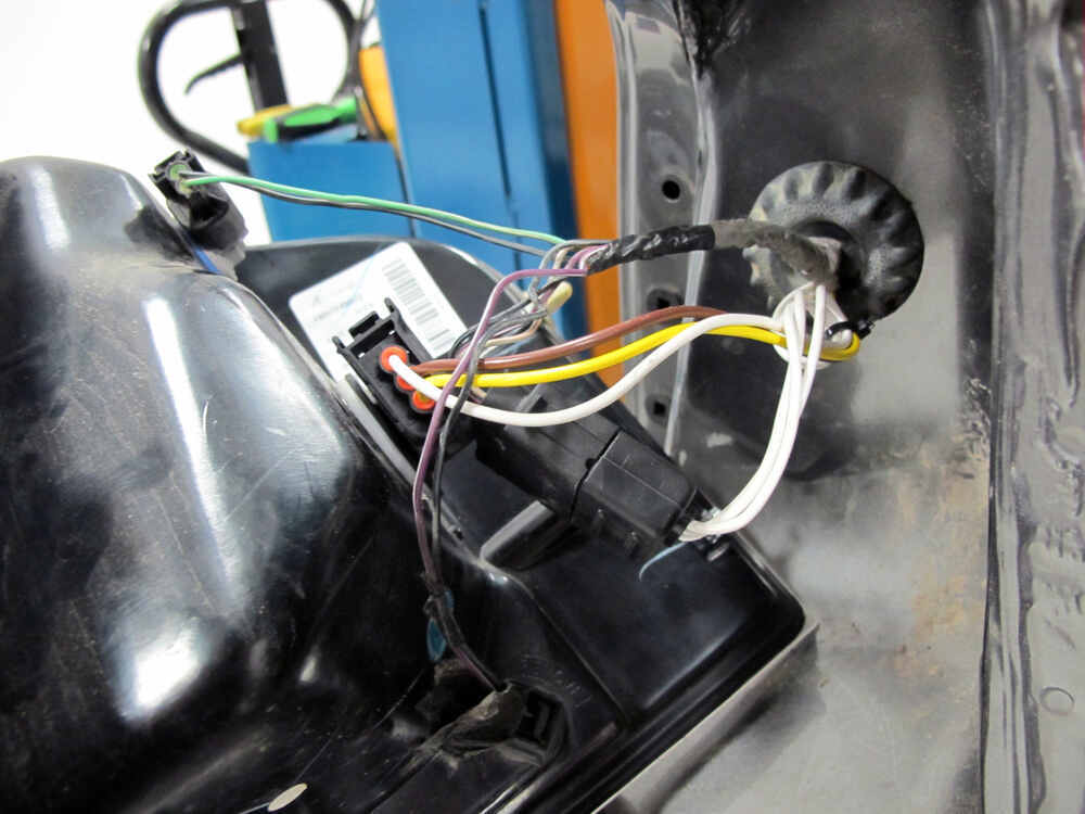 2008 ford edge t-one vehicle wiring harness with 4-pole ... 2008 ford edge stereo wiring ford edge trailer wiring