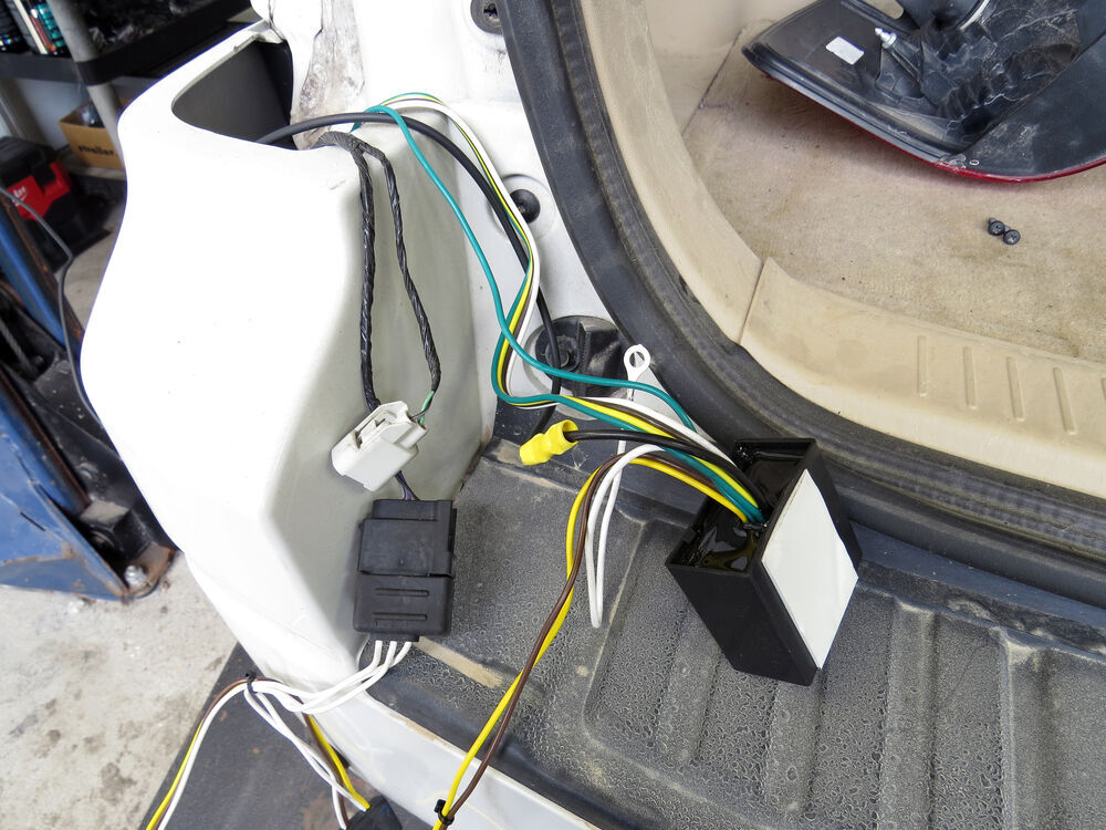 2010 ford escape t-one vehicle wiring harness with 4-pole ... 2010 ford f450 trailer wiring harness 2010 ford f350 trailer wiring diagram #7