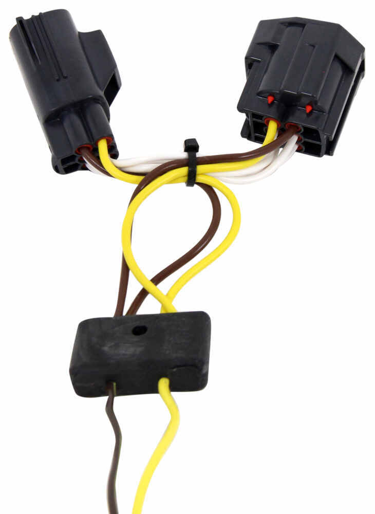 Trailer Wiring Harness For 2011 Jeep Liberty : Jeep liberty t one vehicle wiring harness with pole