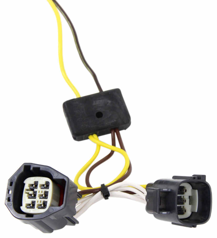 T One Vehicle Wiring Harness With 4 Pole Flat Trailer Connector To 7 End Tow Ready 30717 Tekonsha Custom Fit 118554