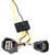 tekonsha custom fit vehicle wiring trailer hitch t-one harness with 4-pole flat connector