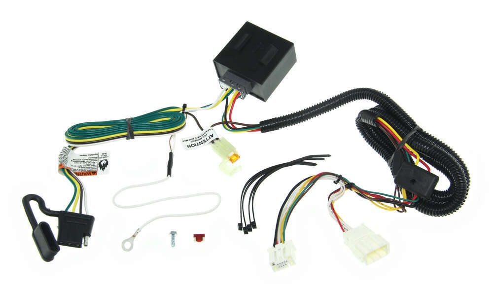 Tone Vehicle Wiring Harness With 4pole Flat Trailer Connector Tekonsha Custom Fit 118561: Vehicle Wiring Harness At Jornalmilenio.com