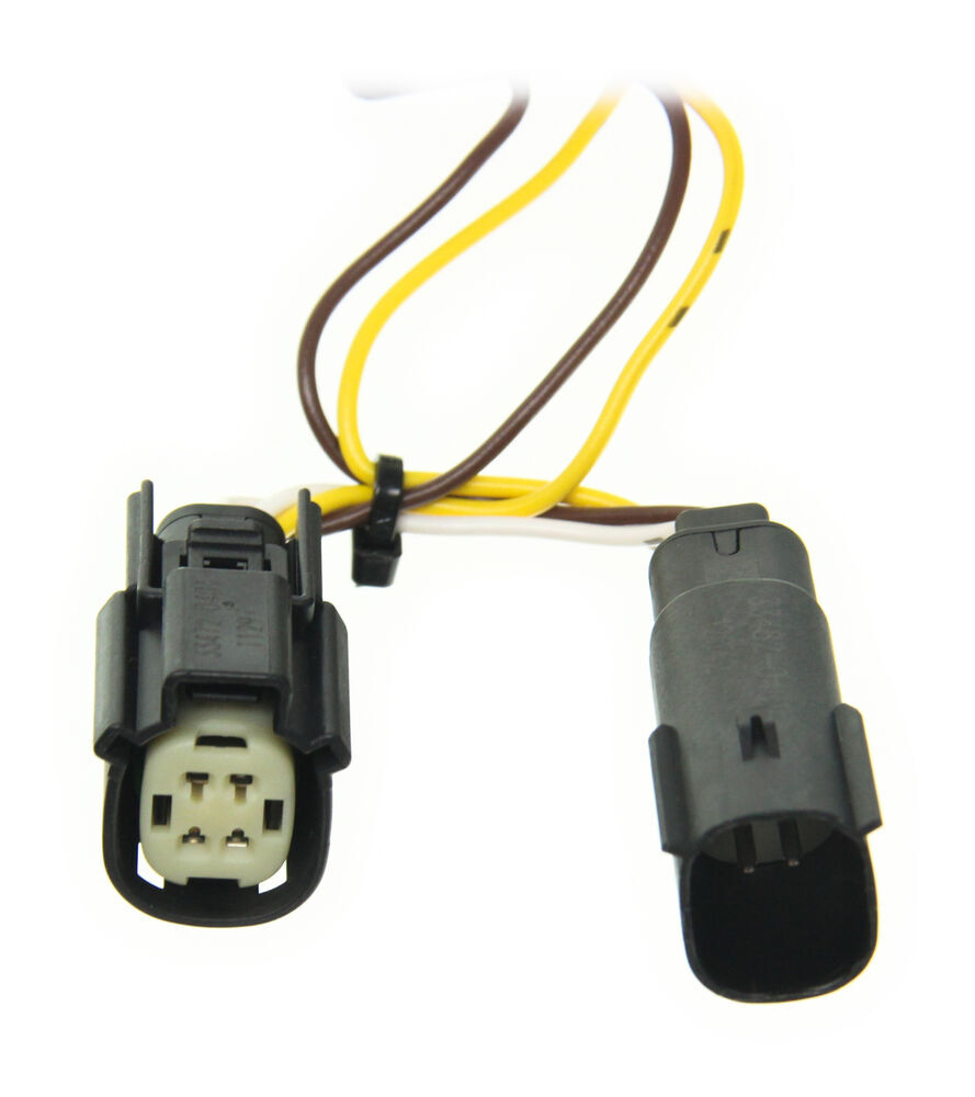 2013 ford f53 trailer wiring 2013 ford escape t-one vehicle wiring harness with 4-pole ... 2013 ford escape trailer wiring