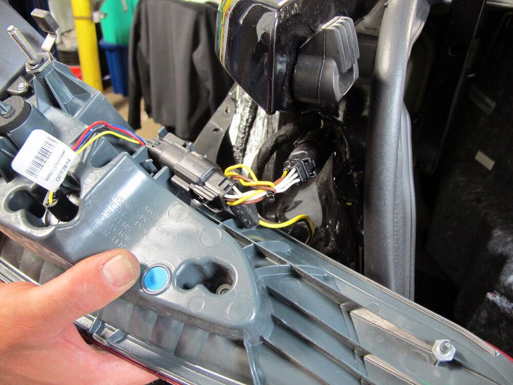 2014 Ford Fusion Custom Fit Vehicle Wiring Tekonsha