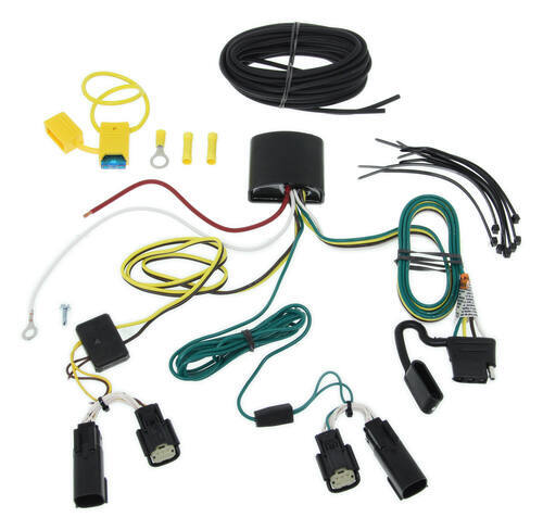 118574_3_500 best trailer hitch and wiring for a 2016 ford fusion etrailer com 2013 ford fusion wiring harness at gsmx.co