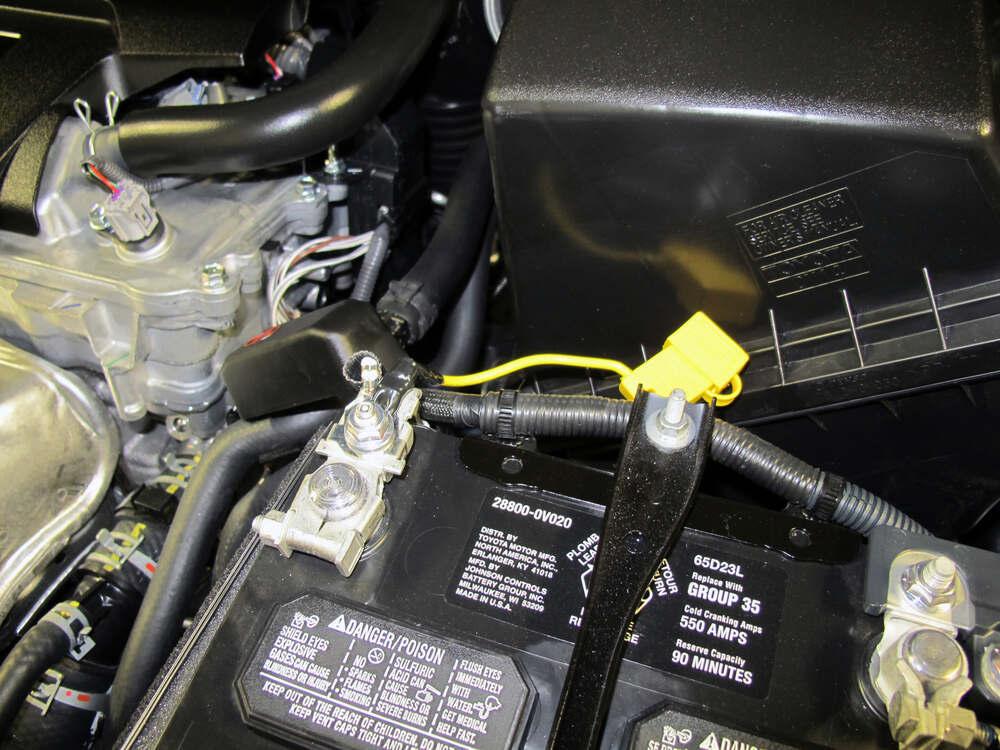 toyota 4 pin trailer wiring harness 2015 toyota rav4 custom fit vehicle wiring - tekonsha