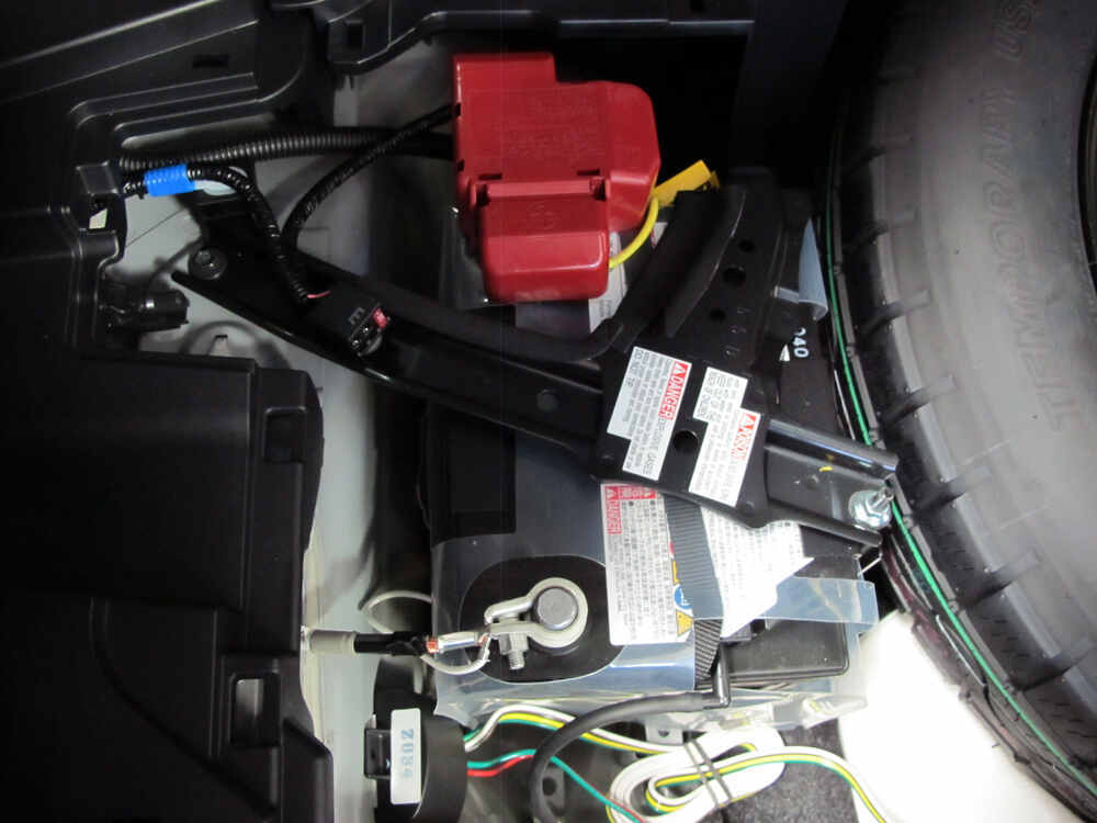 2017 Toyota RAV4 T One Vehicle Wiring Harness with 4 Pole