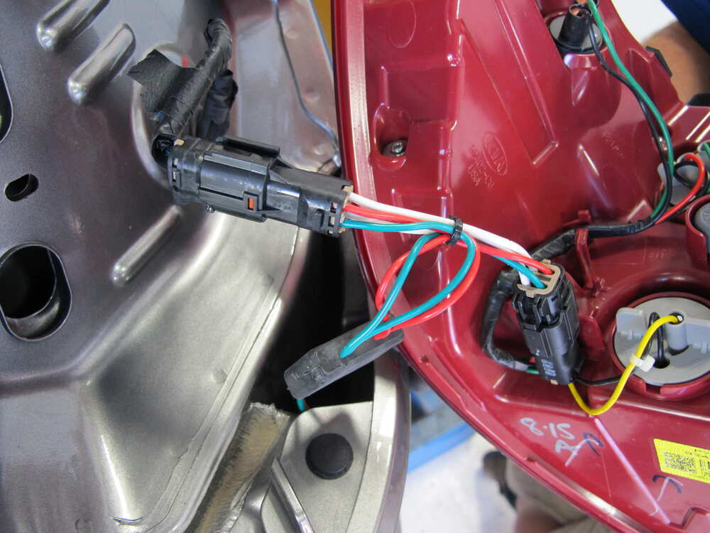 2014 kia sorento t one vehicle wiring harness with 4 pole