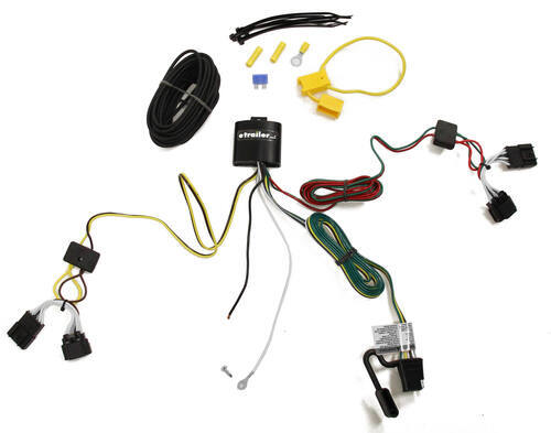 2013 buick encore t one vehicle wiring harness with 4 pole flat trailer connector. Black Bedroom Furniture Sets. Home Design Ideas