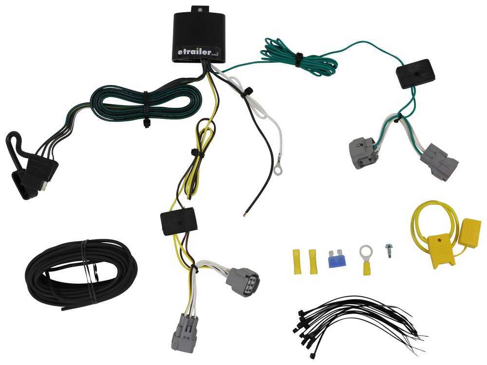 118605 - 4 Flat Tekonsha Custom Fit Vehicle Wiring