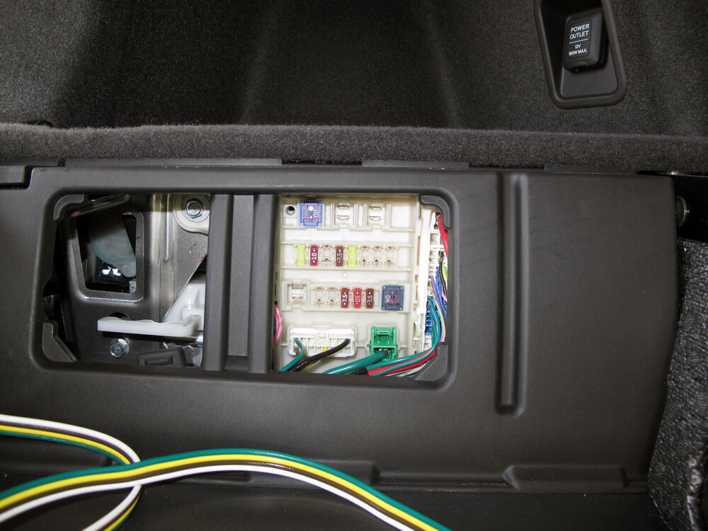 2016 acura mdx t one vehicle wiring harness with 4 pole. Black Bedroom Furniture Sets. Home Design Ideas