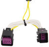 T-One Vehicle Wiring Harness with 4-Pole Flat Trailer Connector Custom Fit 118640