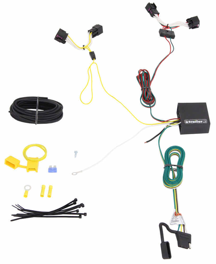 Trailer Wiring Harness Installation 2015 Chevrolet Sonic Video 65795gs Rectifier Diagram T One Vehicle With 4