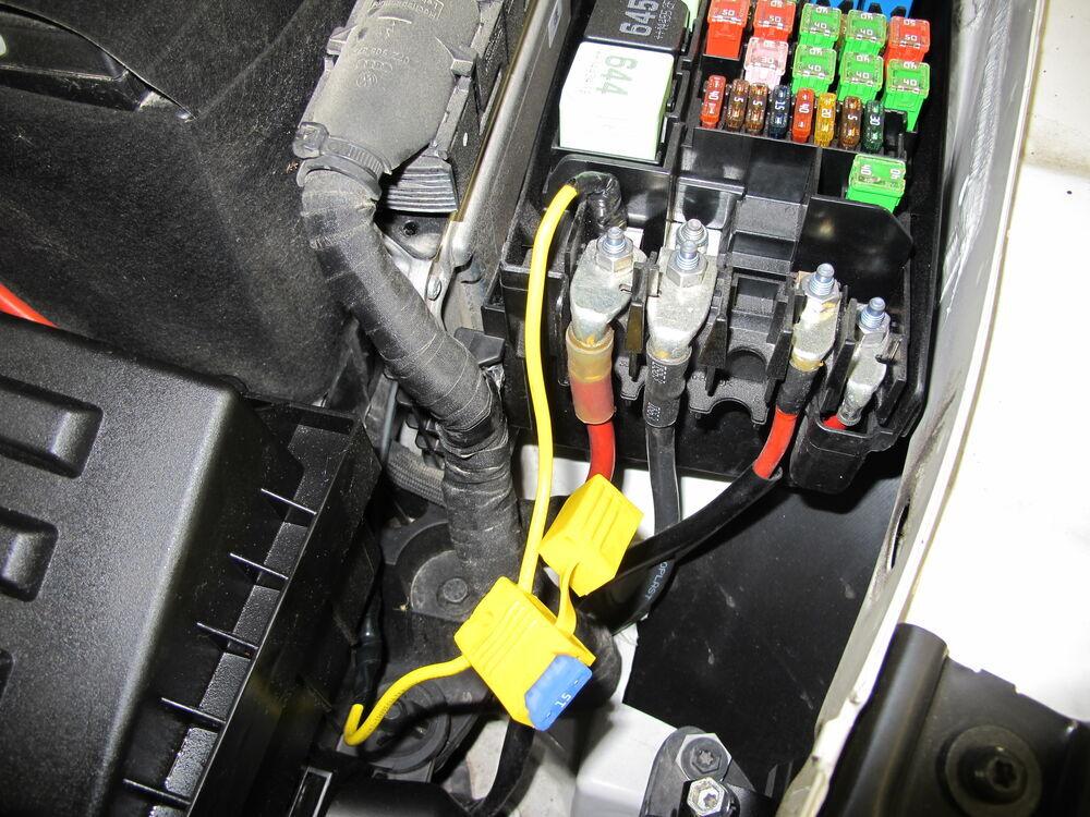 Vw Passat Trailer Wiring Harness : Volkswagen passat t one vehicle wiring harness with