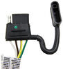 T-One Vehicle Wiring Harness with 4-Pole Flat Trailer Connector Custom Fit 118647