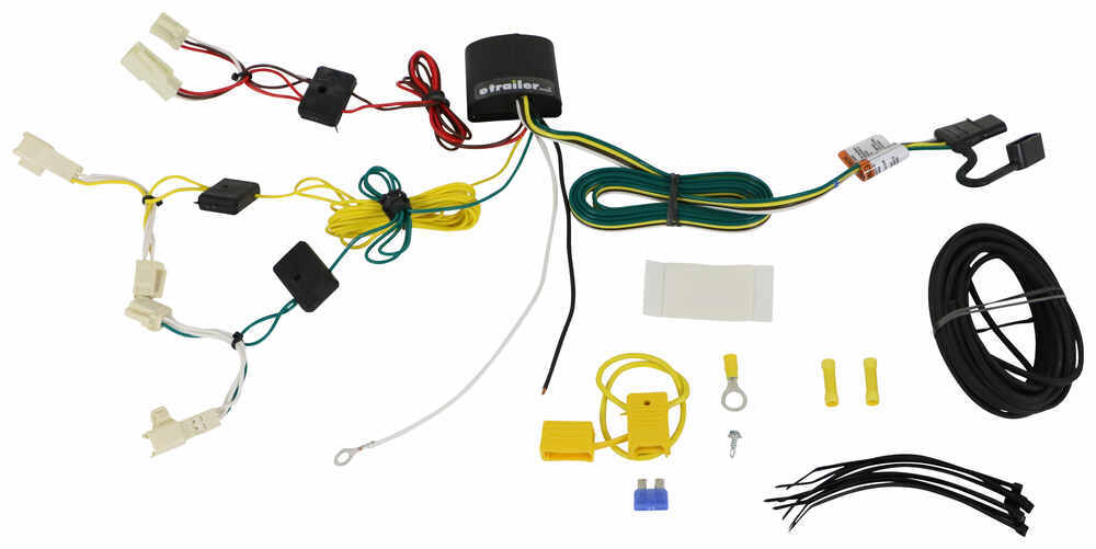 T-One Vehicle Wiring Harness with 4-Pole Flat Trailer Connector 4 Flat 118648