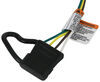 T-One Vehicle Wiring Harness with 4-Pole Flat Trailer Connector Custom Fit 118648