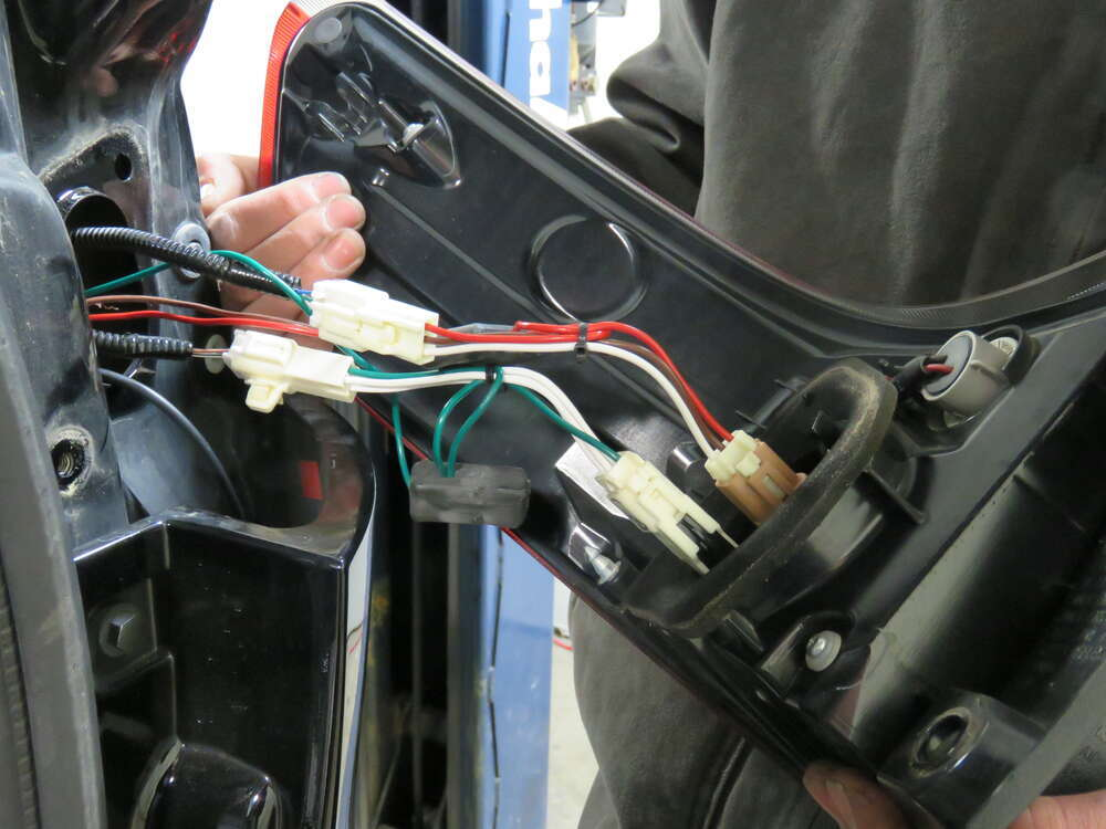 Trailer Wiring Harness For Toyota Sienna : Toyota sienna t one vehicle wiring harness with