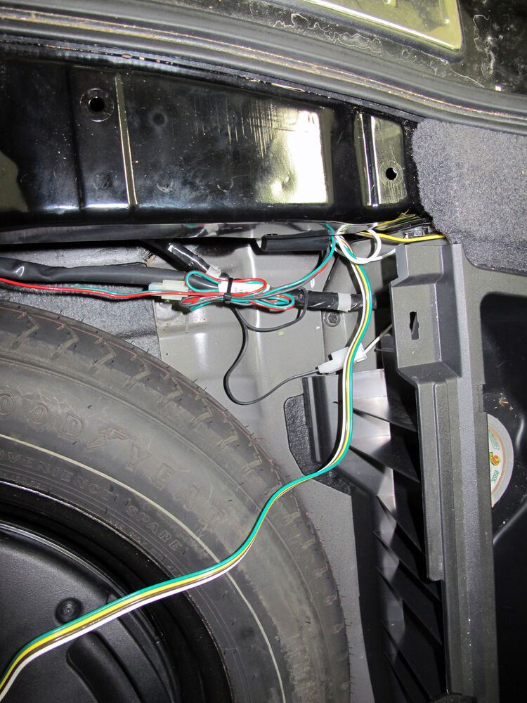 t one vehicle wiring harness with 4 pole flat trailer. Black Bedroom Furniture Sets. Home Design Ideas