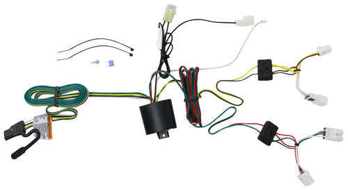 118653_4_500 t one vehicle wiring harness with 4 pole flat trailer connector nissan murano trailer wiring harness at creativeand.co