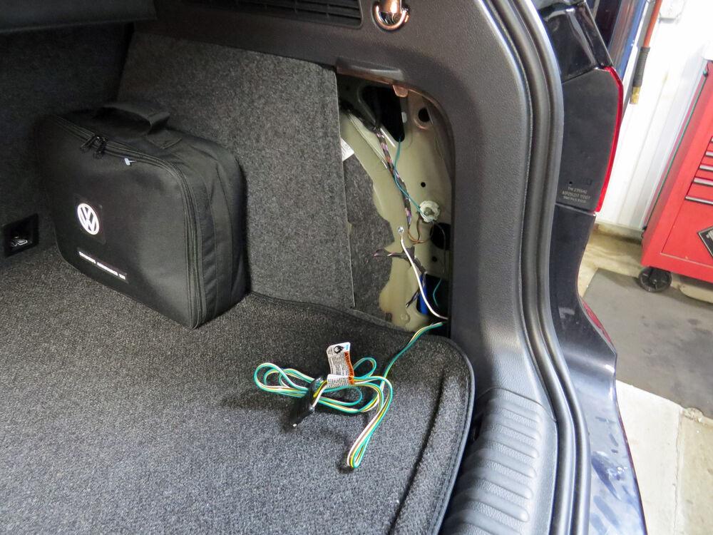 Trailer Wiring Harness Volkswagen Tiguan : Volkswagen tiguan custom fit vehicle wiring tekonsha