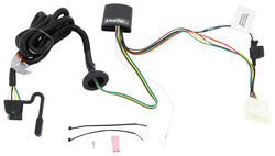 T-One Vehicle Wiring Harness with Upgraded Circuit Protected ModuLite HD Module - 4-Way Flat