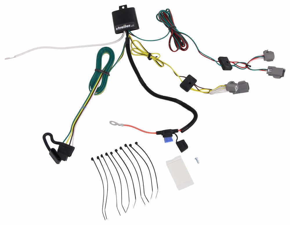 4 Pole Flat Trailer Connector Wiring Diagram