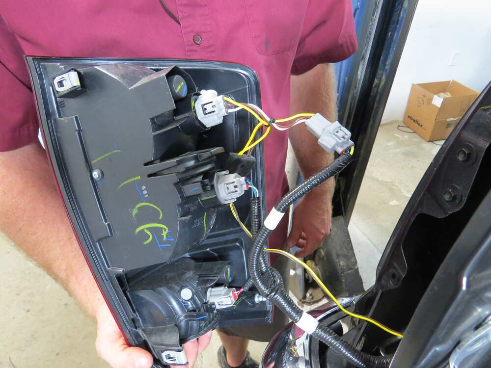 Install Trailer Wiring Harness Toyota Tacoma : Toyota tacoma custom fit vehicle wiring tekonsha