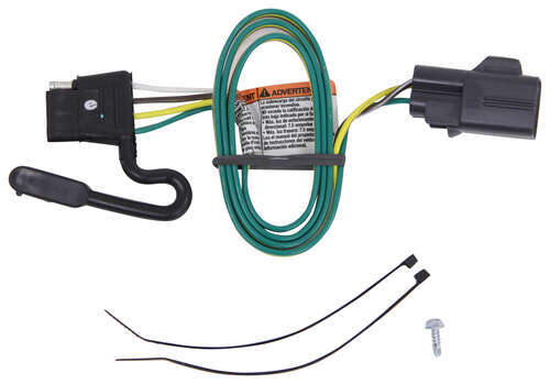 Prime One Vehicle Wiring Harness With 4Pole Flat Trailer Connector Tow Wiring Cloud Hisonuggs Outletorg