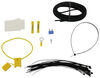 T-One Vehicle Wiring Harness with 4-Pole Flat Trailer Connector Custom Fit 118727