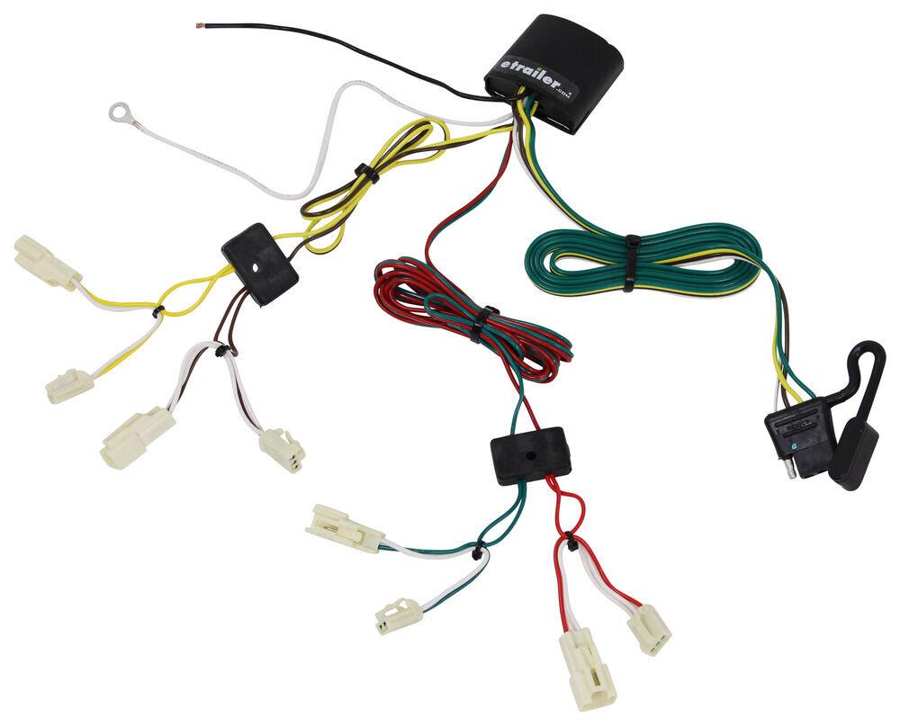 Wiring Harness Toyota Yaris : Toyota yaris ia custom fit vehicle wiring tekonsha