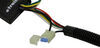 T-One Vehicle Wiring Harness with 4-Pole Flat Trailer Connector Powered Converter 118741