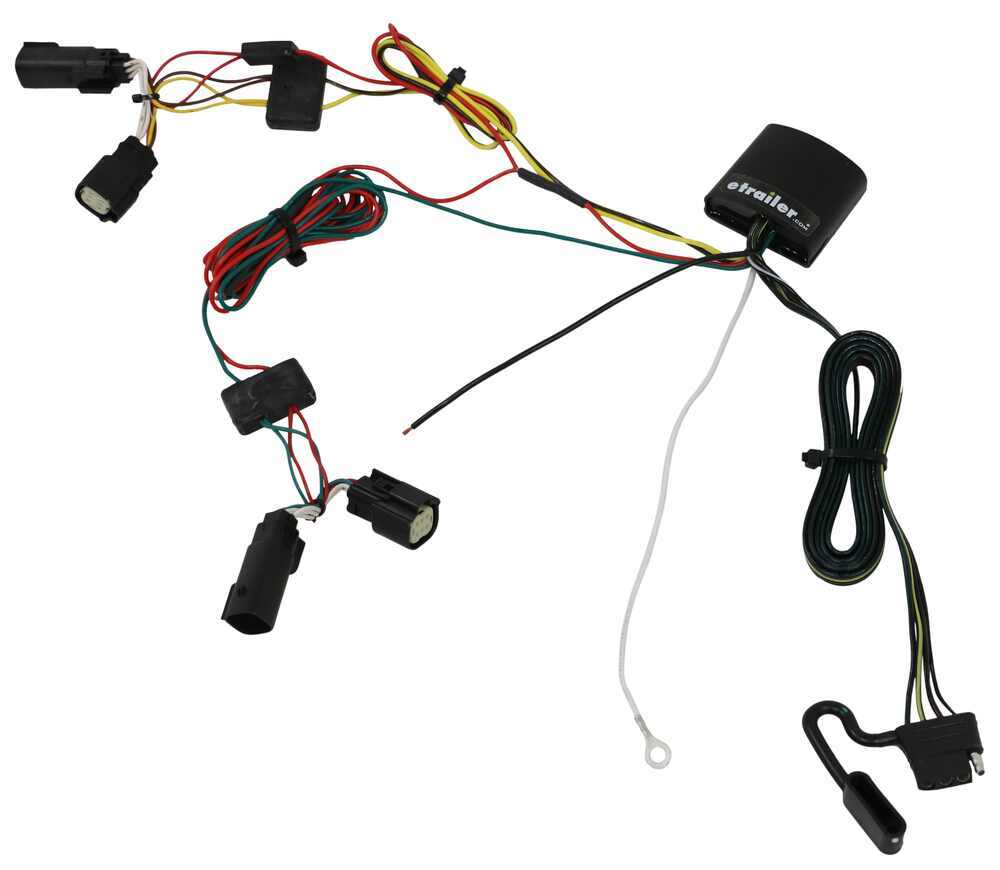 2019 Jeep Cherokee T-One Vehicle Wiring Harness With 4