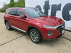 Custom Fit Vehicle Wiring 118784 - 4 Flat - Tekonsha on 2019 Hyundai Santa Fe