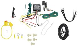 Upgraded Modulite Vehicle Wiring Harness Kit with 4 Pole Trailer Connector (Includes Install Kit)