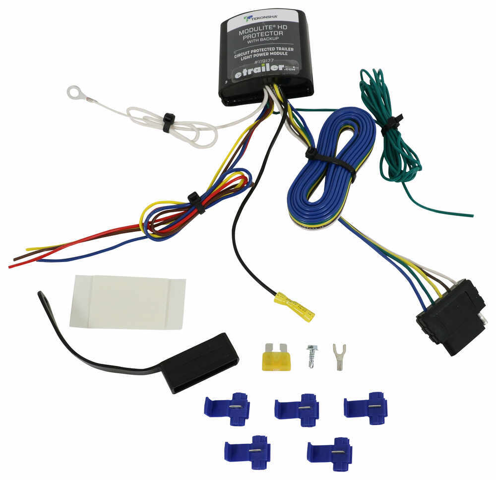 Compare Modulite Protector Vs Zci Circuit Protected Trailer Hitch Wiring Harness For Lexus Rx 350 Tekonsha 5 Flat 119177