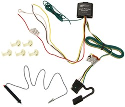 Upgraded Circuit Protected Tail Light Converter Hardwire Kit with 4-Pole Connector (Includes Tester)