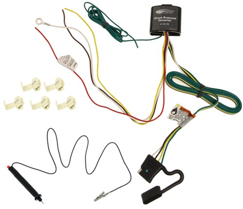 119178KIT_3_500 upgraded circuit protected tail light converter hardwire kit with  at arjmand.co