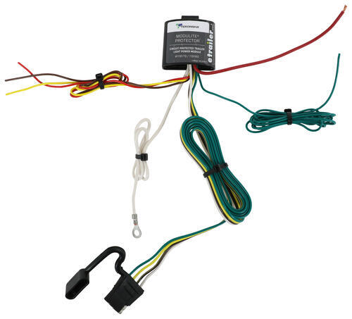 upgraded modulite circuit protected vehicle wiring harness. Black Bedroom Furniture Sets. Home Design Ideas