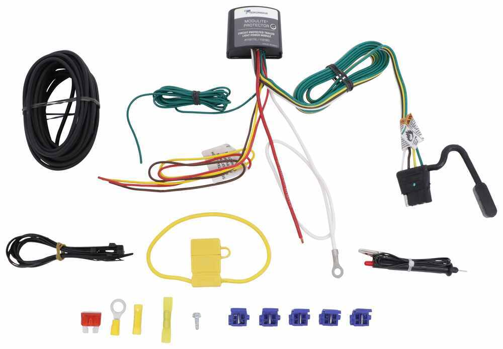 toyota ta a trailer wiring harness as well volkswagen jetta wiringupgraded circuit protected modulite with 4 pole flat, hardwire kitupgraded circuit protected modulite with 4