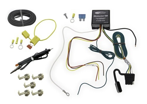 tekonsha wiring 4 flat upgraded heavy duty modulite circuit protected vehicle harness with install kit