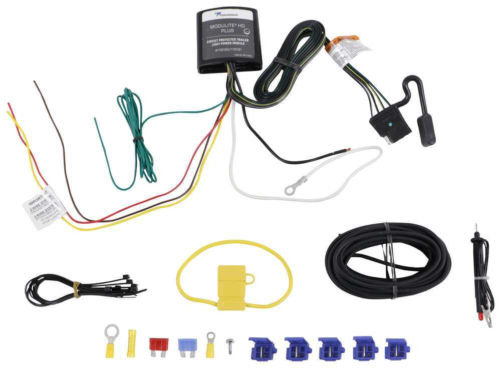 Upgraded Heavy Duty ModuLite Circuit Protected Vehicle Wiring ... on