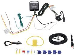 upgraded heavy duty modulite circuit protected vehicle wiring harness with installation  kit