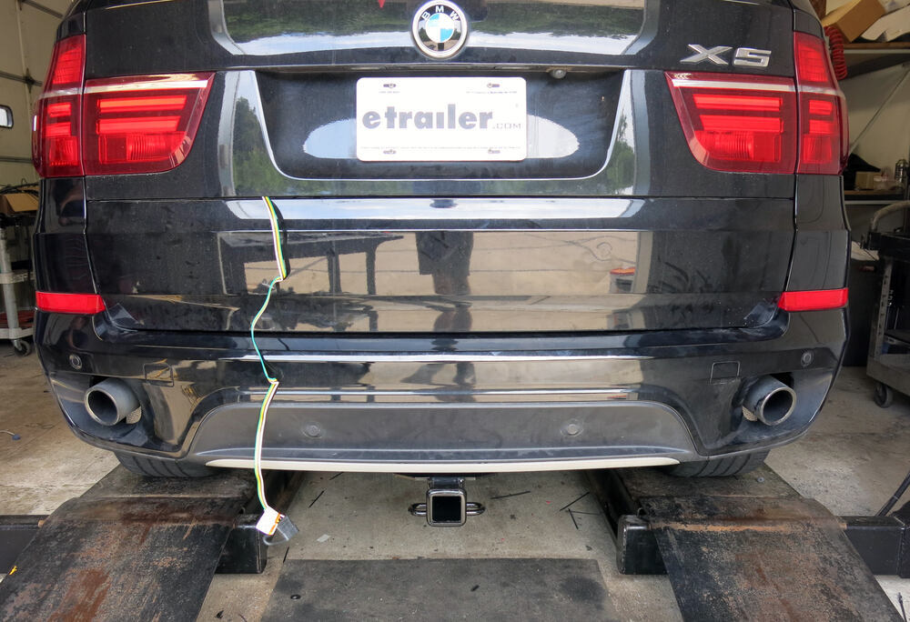 zci circuit protected vehicle wiring harness w/ 4-pole ... bmw x5 trailer wiring diagram 2013 bmw x5 trailer wiring