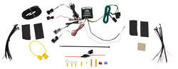 ZCI Circuit Protected Vehicle Wiring Harness w/ 4-Pole Flat Trailer Connector and Installation Kit