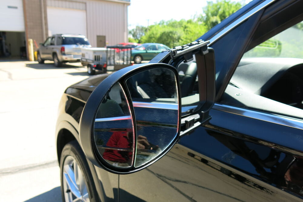 2017 audi q7 cipa universal fit dual view towing mirror clip on. Black Bedroom Furniture Sets. Home Design Ideas