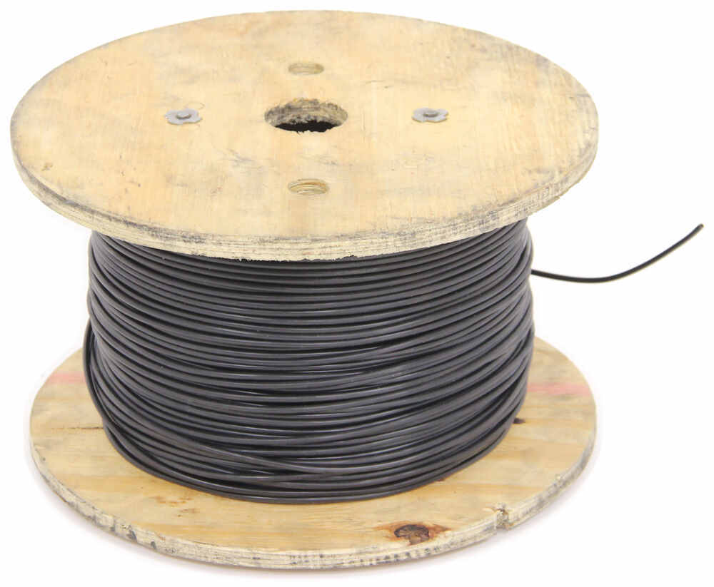 12 Gauge Black Primary Wire Per Foot Deka Accessories And Parts 1 6 Way Trailer Wiring Diagram Cattle