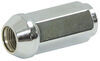 "Chrome Trailer Wheel Lug Nut - 1/2"" - Qty 1"