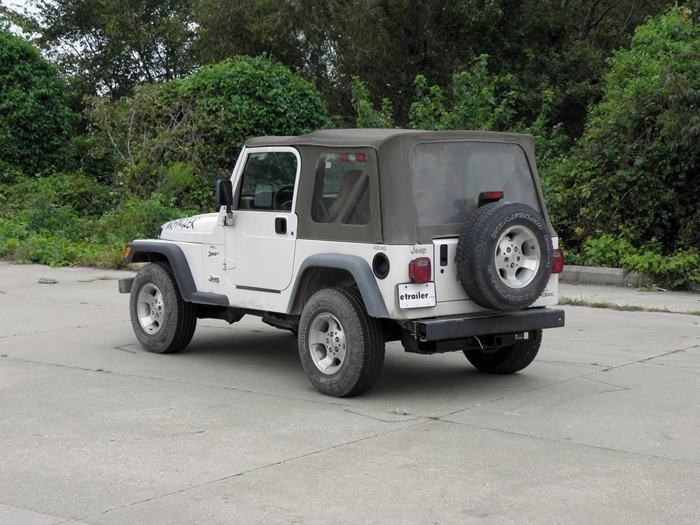 1999 jeep wrangler curt trailer hitch receiver custom. Black Bedroom Furniture Sets. Home Design Ideas