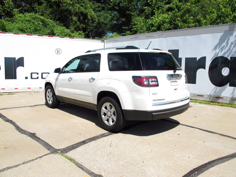 2015 gmc acadia curt trailer hitch receiver custom fit class iii 2. Black Bedroom Furniture Sets. Home Design Ideas